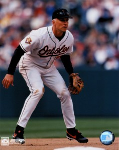 Cal Ripken.  The master at anticipating and leaning.