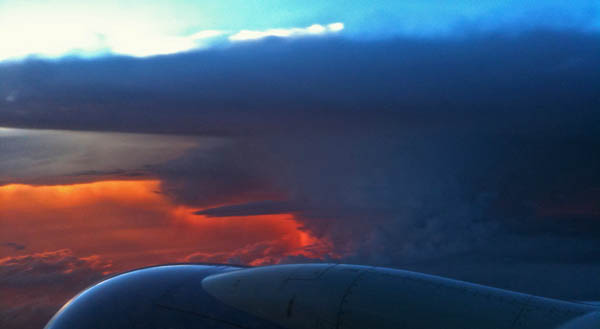 When pilots approach storms, they adjust and reroute.  They don't just give up.