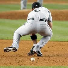 Sometimes the fielder just wasn't fully expecting it.