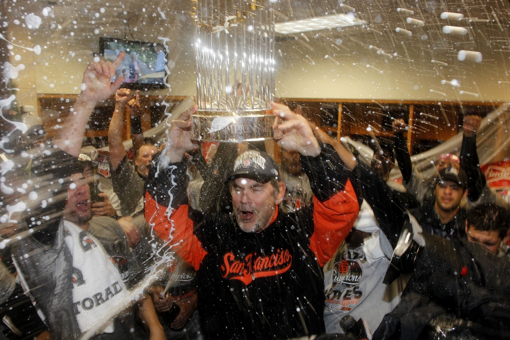 Bruce Bochy and the 2014 Champs